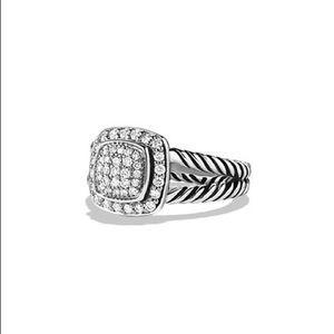 David Yurman Petite Albion Ring with Diamonds